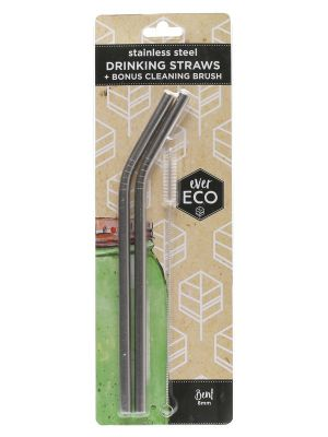 EVER ECO Stainless Steel Straws 2