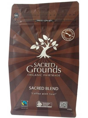 Sacred Grounds Coffee For Espresso 250g