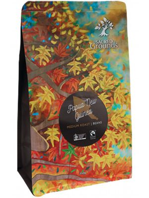 SACRED GROUNDS PNG Coffee Beans 250g