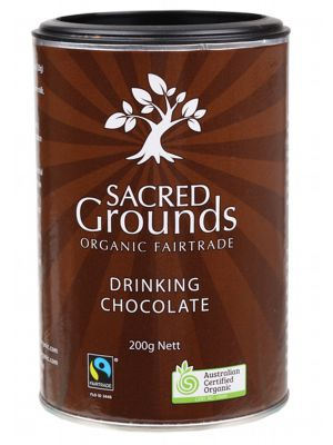 Sacred Grounds Drinking Chocolate 200g