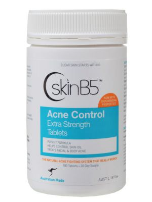SkinB5 Acne Control Extra Strength Tablets 180 tabs