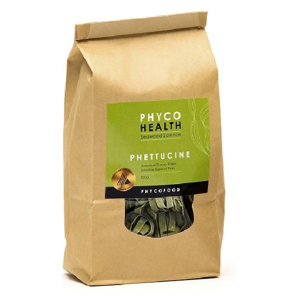 PHETTUCINE - Seaweed loaded durum semolina pasta