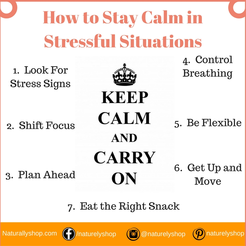 How to Stay Calm in Stressful Situations – Stress Control