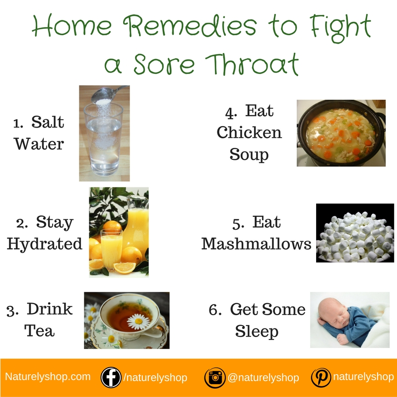 How to Fight Sore Throats Using Home Remedies