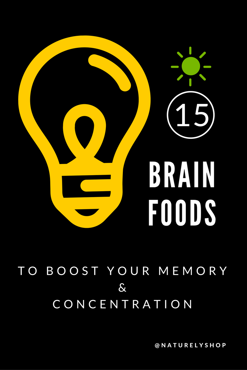 15 Best Foods to Boost Memory and Improve Brain Power