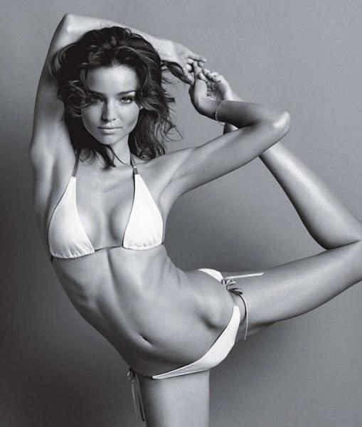 Miranda Kerr's Fitness Tips – Workout and Yoga